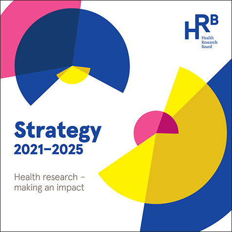 Image of the HRB Strategy 2025 title: Health research - making an impact