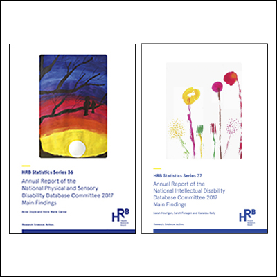 Cover of NIDD 2017 report and cover of NPSDD 2017 report side by side.