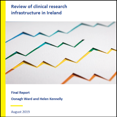 Review of Clinical Research Infrastructures in Ireland front cover