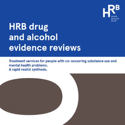Report cover for Treatment services for people with co-occurring substance use and mental health problems: a rapid realist synthesis