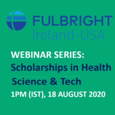 Fulbright Scholarships webinar series logo