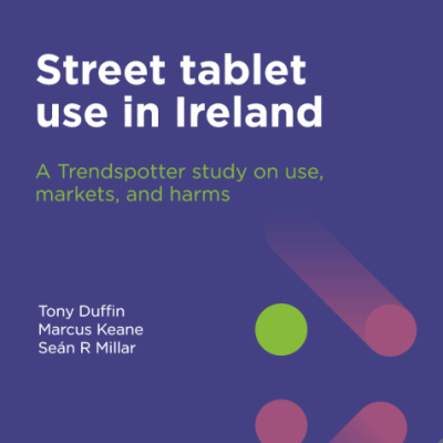 Street tablet use in Ireland front cover