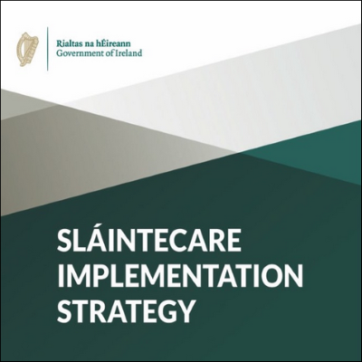Slaintecare Implementation Strategy report cover