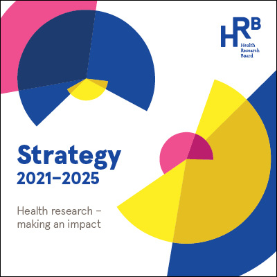 Image of the new HRB Strategy title: Health research - making an impact