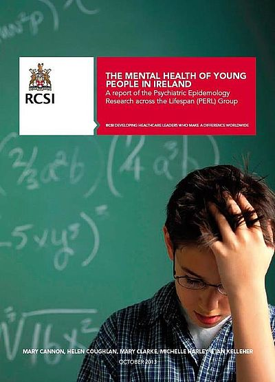 Front cover of The Mental health of Young People in Ireland