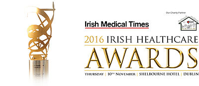 Irish healthcare awards 2016 logo
