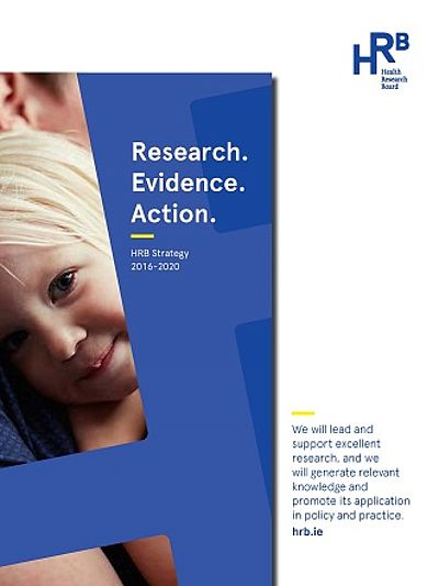 cover of HRB strategy 2016-2020