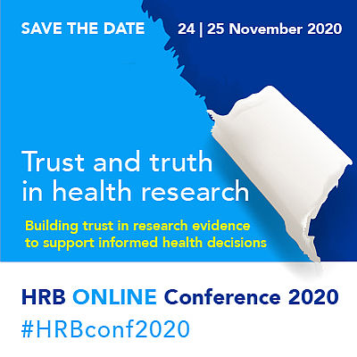 HRB National Conference, Trust and Truth in Health Research, November 24-25