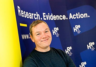 Fitness Instructor Brendan Quinn who participated in this HRB-funded research